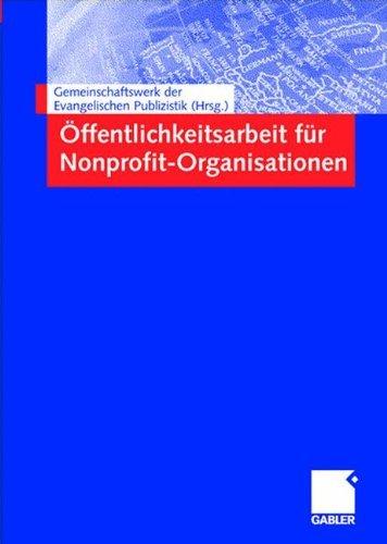 Ã-ffentlichkeitsarbeit für Nonprofit-Organisationen (2004-05-14)
