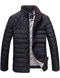 Queenshiny Short Men's Down Coat Jacket/Thicken and lighter