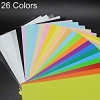 HUANGMENG Stationery 26 Colors in 1 Colorful Scrub Heat Shrink Film DIY Heat Shrink Film HUANGMENG