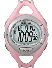 Timex Ironman iControl Pink Resin Strap Watch
