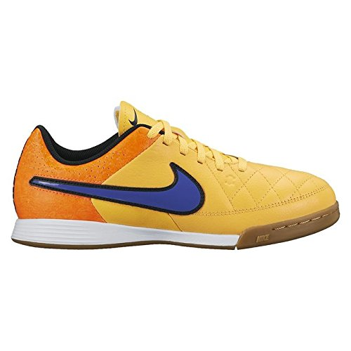 Nike Jr. Tiempo Genio IC Unisex-Kinder Fußballschuhe Orange