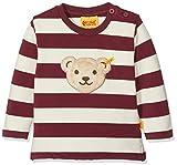Steiff Baby-Jungen Sweatshirt 1/1 Arm, Rot (Burgundy|Red 2761), 86