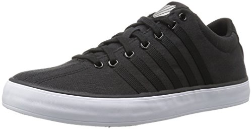 K-Swiss Court Pro Vulc, Sneakers Basses Mixte Adulte Noir (Black/white 002)