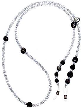 Rainbow Sostenedor de Perla para Gafas Correa Cadena Cuerda para Gafas de Sol Sujetador de Anteojos RC02-Pearl