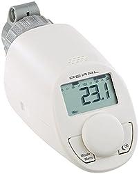 PEARL Programmierbares Energiespar-Heizkörper-Thermostat mit Boostfunktion