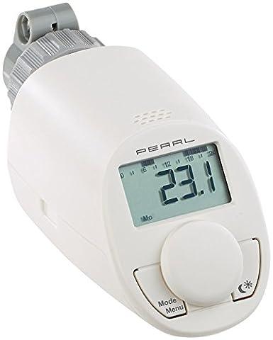 PEARL Heizkörperthermostat: Programmierbares Energiespar-Heizkörper-Thermostat mit Boostfunktion (Programmierbare