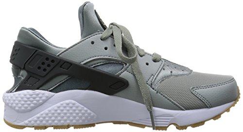 Nike Air Huarache, Baskets Basses Homme Negro / Blanco (Shark / Anthracite-Hasta-White)