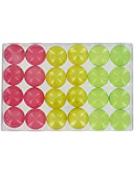 Boîte de 24 perles d'huile de bain fantaisies - Trio fruits