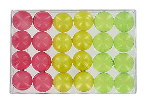 Box of 24 fantasy bath pearls - fruits trio