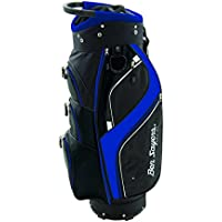 Ben Sayers - Bolsa Unisex DLX para Carrito, Color Negro/Azul, 21,59 cm
