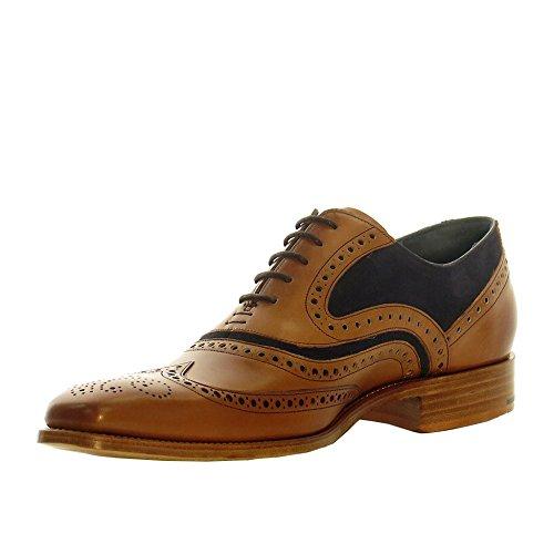 Mens Barker McClean cèdre mollet Chaussures richelieu à cravate daim Bleu Cedar Calf