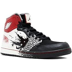 """Nike para hombre Air Jordan zapatos de baloncesto de cuero de alta Pt 1 """"Dave White"""""""