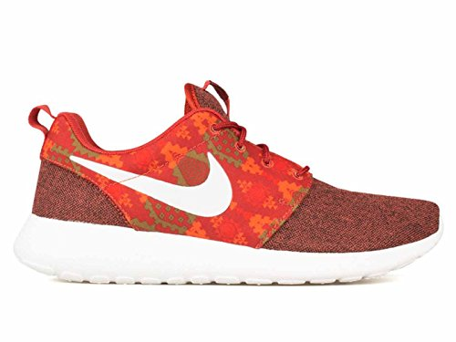Nike Roshe One Print, Scarpe sportive, Uomo Arancione