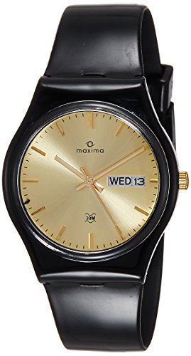 Maxima 02237PPGW  Analog Watch For Unisex
