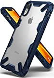 Ringke Coque Compatible avec iPhone XR, [Fusion-X] Antichoc Transparente Protection...