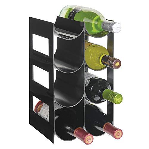 mDesign praktisches Wein- und Flaschenregal - Weinregal