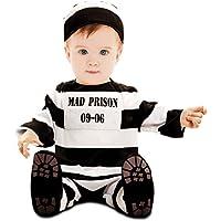 My Other Me - Disfraz de preso bebé, 7-12 meses (Viving Costumes 202512)