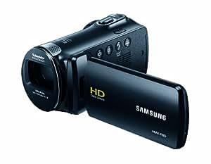 Samsung F80 Caméscope numérique Port SD/SDHC 5 Mpix Zoom optique 52x Noir