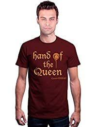 Redwolf Hand Of The Queen HBO® Licensed Game Of Thrones Half Sleeve Cotton T-shirt