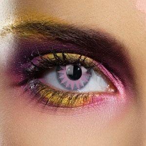 20113 SOLAR VIOLET gefärbte Kontaktlinse Crazy Kontaktlinsen, Farbspaß, Top-Qualität.