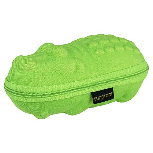 Baby Banz Premium Sunglass Case - Green Croc - Green Croc
