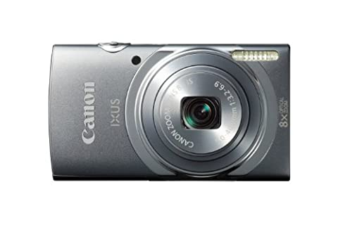 Canon IXUS 150 Point and Shoot Digital Camera - Grey