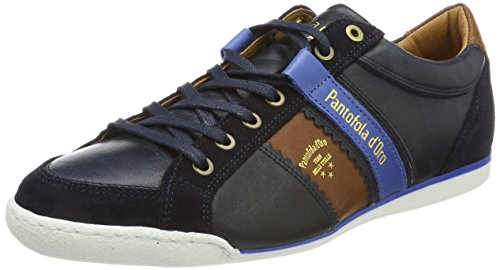 Doro Homme Pantofola dress Low Bleu Romagna Baskets Uomo Savio Blues UwwpqBd
