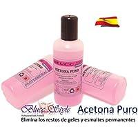 ACETONA PURO AROMATIZADO - 90ml - Manicura, uñas de gel, esmaltes permanentes