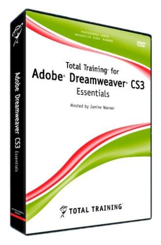Total Training for Adobe Dreamweaver CS3 (DVD-ROM) (PC/Mac) Test