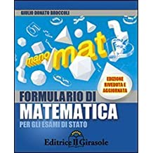 Formulario matematica libri scolastici libri for Codice promozionale amazon libri scolastici