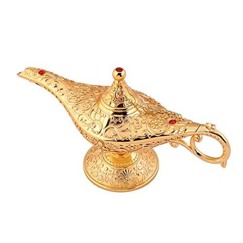 SogYupk Exclusiva y mágica lámpara de Aladin, Adecuada como Pieza de coleccionista, Accesorio del hogar, artículo de decoración para la Mesa, Regalo