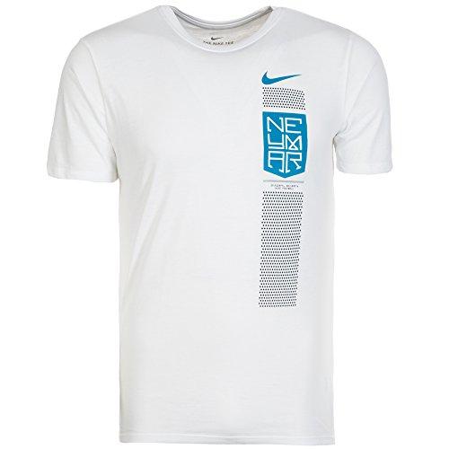 2017-2018 Neymar Nike Dry Tee (White) -