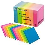 Zczn 6Notes Sticky Notes de couleur vive, 3en X 3en Lot de 12blocs/100feuilles/Pad Sticky problème est plus 12 Pack