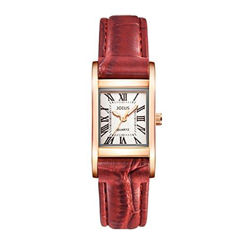 Orologio femminile retrò Piazza/Guarda gli amanti della moda studente/Lista dei orologio al quarzo da polso neutro-A