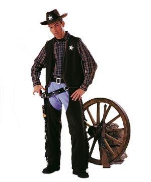 52/54 Cowboy-Weste, braun