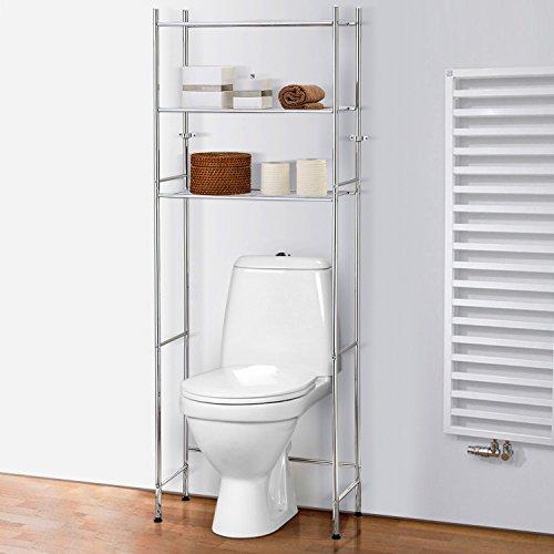 Tatkraft Roomy Platzsparendes Space Saver Badezimmer WC Regale über WC Waschmaschine Regalsystem 61X27X170H cm