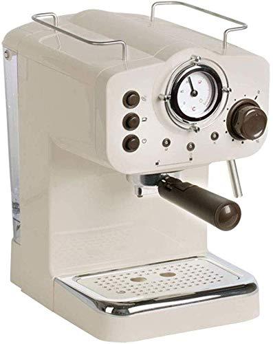ZJZ Filterkaffeemaschine Haushaltskaffeemaschine, Kleine Milchschaum Mini Retro Vollhalbautomatische Espressomaschine, für Heim und Büro