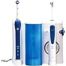 Braun OC203000 - Cepillo de dientes eléctrico de rotación, 8800 rpm, 2 piezas, color azul y blanco