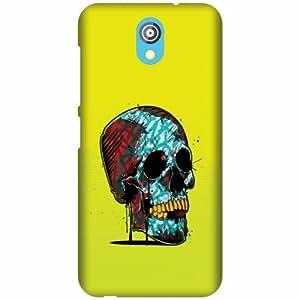 Printland Designer Back Cover For HTC Desire 526G - Skull Designer Cases