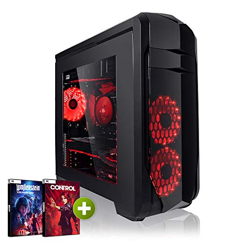 Megaport Gaming PC Intel Core i5-9600K 6X 3.70GHz • Nvidia GeForce RTX 2060 6GB • 480GB SSD • 16GB DDR4 • Windows 10 • WLAN • 1TB Gamer pc Computer Desktop pc high end Gaming pc Gaming Computer