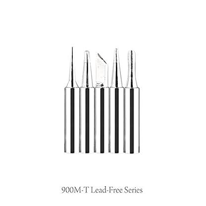 Zogin 60W 220V Kit de Soldadura Eléctrica con Temperatura Ajustable y 5pcs Puntas Diferentes, Bomba Desoldadora, Soporte, Pinza Antiestática y Hilo de Estaño para Trabajo de Reparación