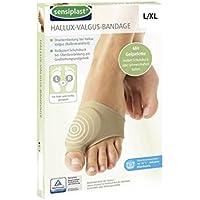 Hallux Valgus Bandage L/XL Zehenschutz Gelpelotte Gel Ballen Ballenschutz Korrektur preisvergleich bei billige-tabletten.eu