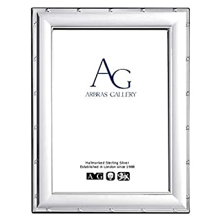 Arbras Gallery AG Sterling Silver Frame Ribbon & Reed design for photograph 6