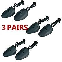 BeatlGem 5 Pairs Practical Adjustable Length Men Shoe Tree Stretcher Boot Holder