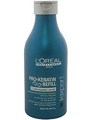 L'Oréal Professionnel - Shampooing PRO-KERATIN REFILL Restaurateur à la Kératine pour Cheveux Fragilisés - 250ml
