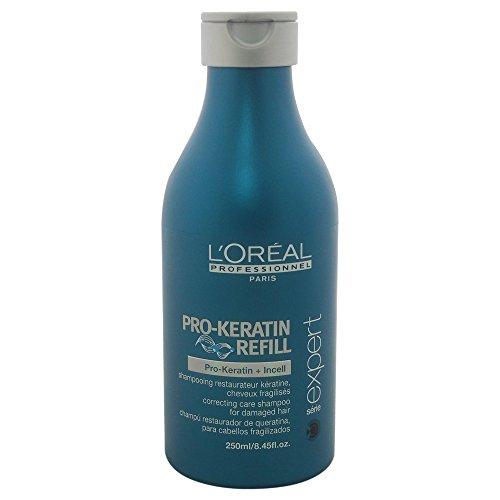 Pro-Keratin Refill 250 Mill Shampoo L'Oreal Professionnel Serie Expert