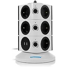 Safemore Multipresa Ciabatta Elettrica Torre con 11