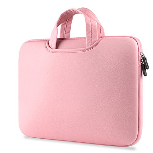 dream_light Für 29,5 cm 30,5 cm 33,8 cm 39,1 cm Apple MacBook Air/MacBook Pro/MacBook Pro (Retina) Laptop Notebook Ultrabook Luxus Fashion Neopren Handtasche Sleeve Tragetasche Schutzhülle, Rose -