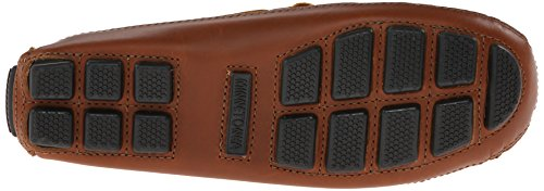 Minnetonka Herren Double Bottom Cowhide Driving Moc Mokassin Braun (Chestnut)