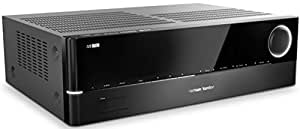 Harman/Kardon AVR 171S 700 Watt 7.2-Kanal Audio/Video Receiver (7 x 100 Watt) mit 6 x HDMI, Apple AirPlay, Internetradio, DLNA 1.5, USB und Bluetooth Konnektivität – Schwarz